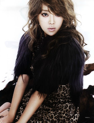 Narsha Brown Eyed Girls BEG Esquire October 2011