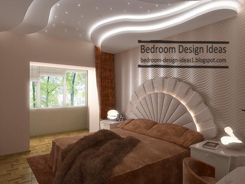 Small bedroom design ideas streamlined gypsum ceiling for Master bedroom ceiling designs