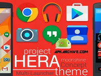 Project Hera Launcher Theme v1.6 Apk