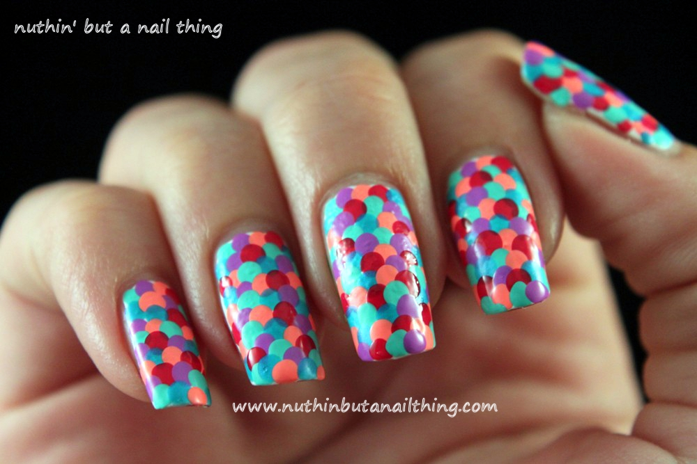 Nuthin but a nail thing fishscale nail tutorial fishscale nail tutorial prinsesfo Images