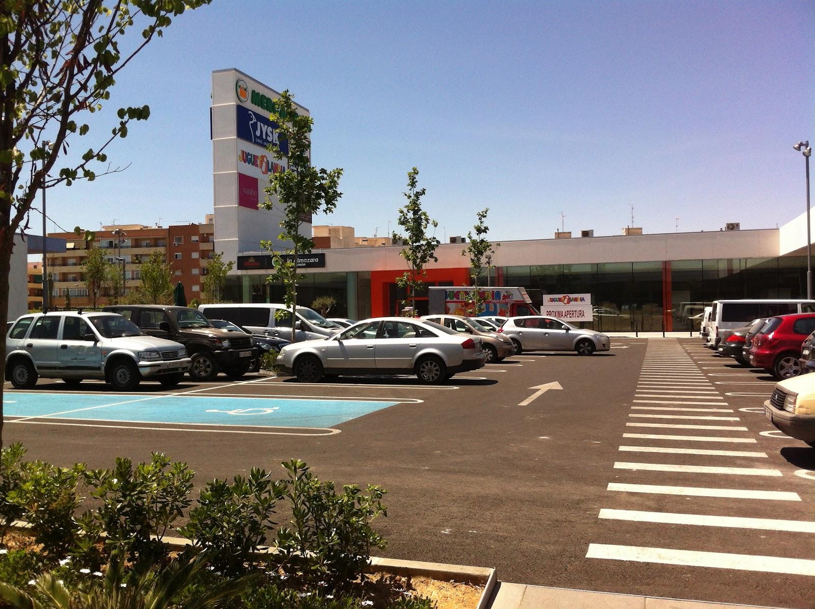Inaugurado el centro comercial la almazara en san - Temperatura en san vicente del raspeig ...