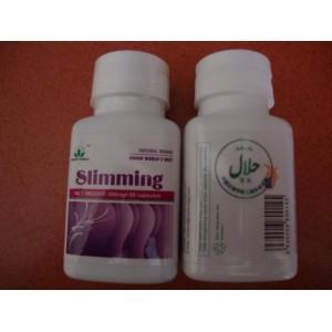 slimming capsule tampak depan dan belakang