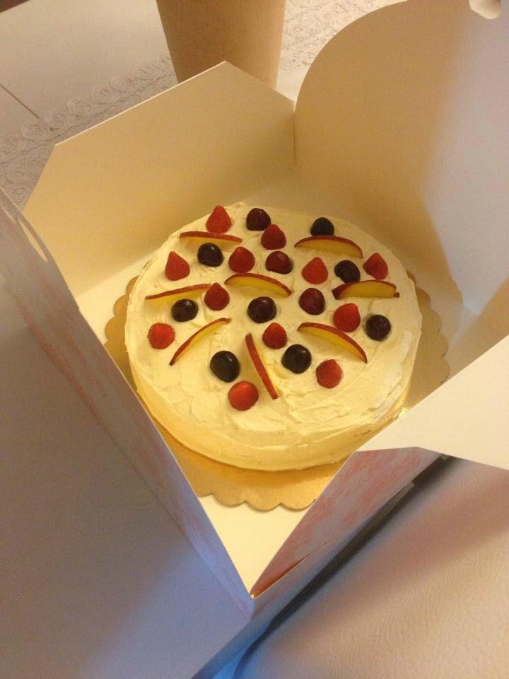 Chiffon Cake frutta.