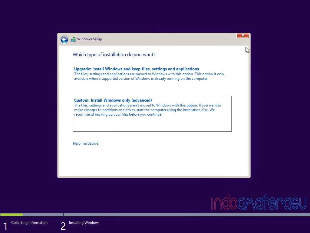Cara install Windows 8/ 8.1 3