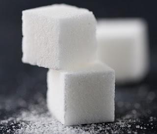 kryštálový cukor kocky