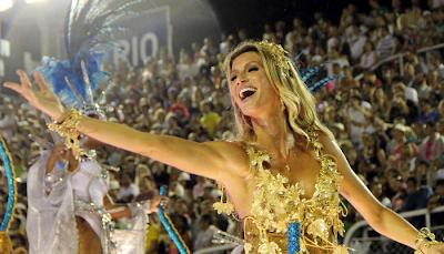 Gisele Bündchen Carnaval de Río de Janeiro 2011