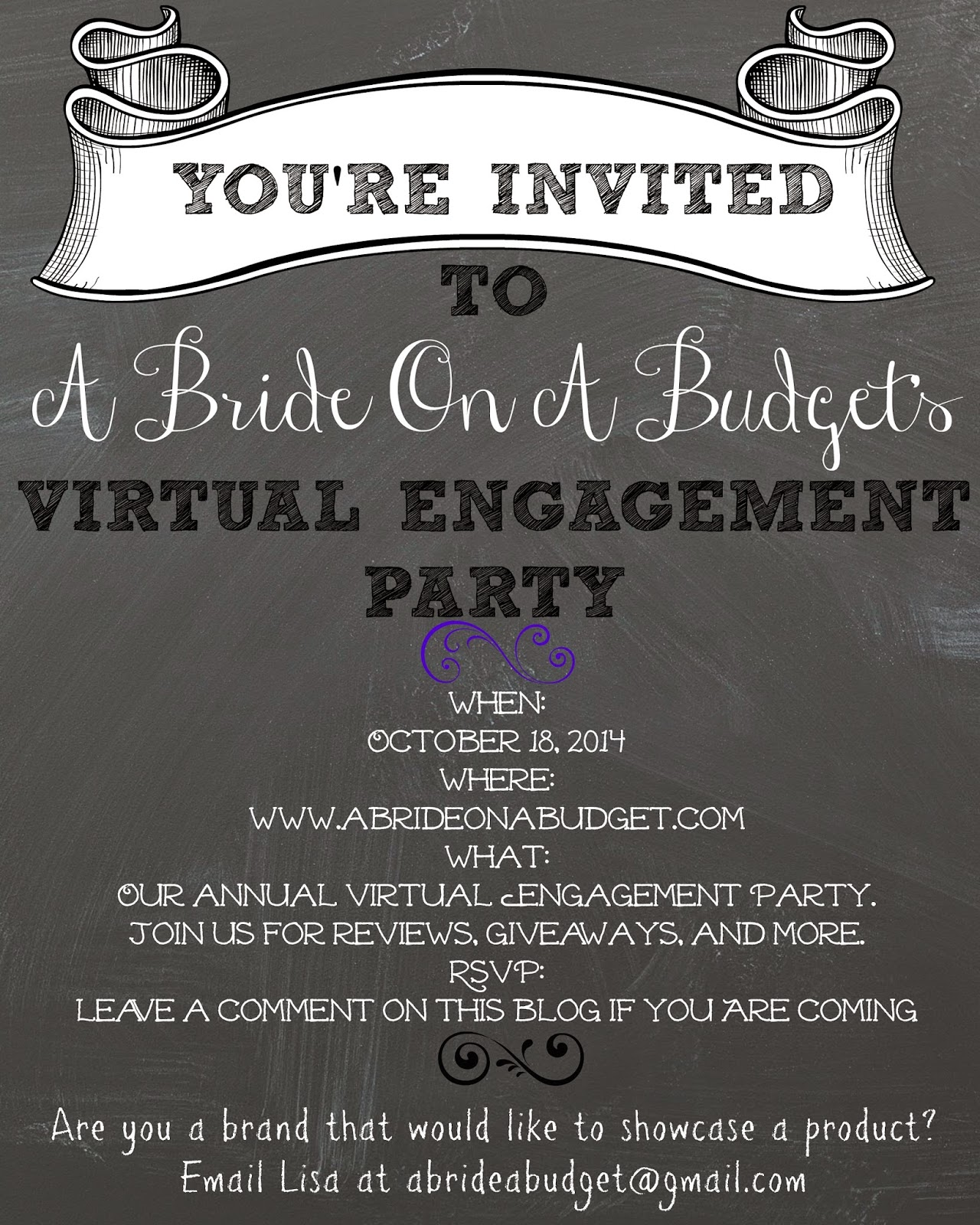virtual engagement party