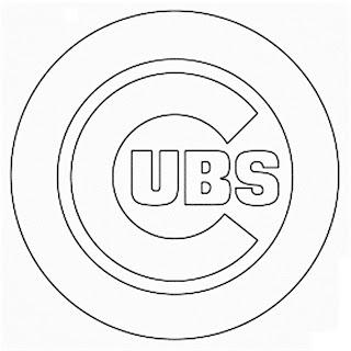 Logo de los cachorros de Chicago para colorear