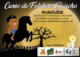 CURSO DE FOLCLORE GAÚCHO 19/04
