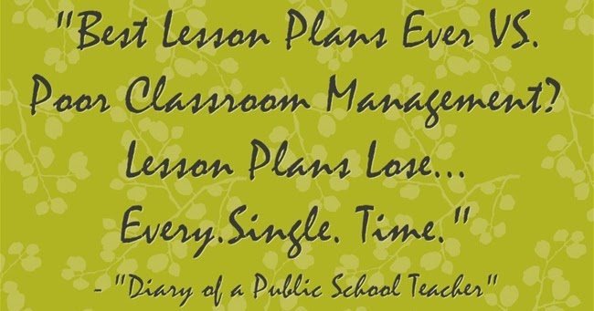 Classroom Management Skills to Help You Survive the Year!
