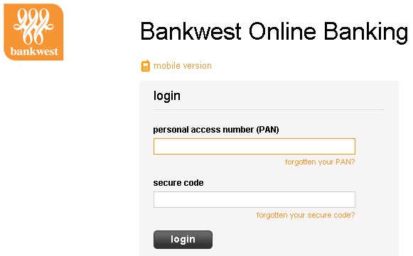 bankwest account number
