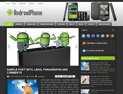 AndroidPhone Blogger Theme