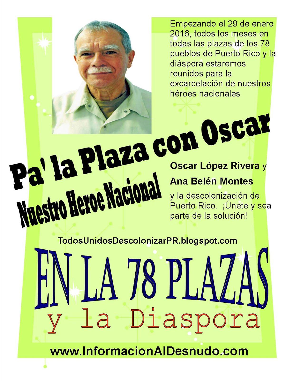 Pa' la Plaza con Oscar 2016