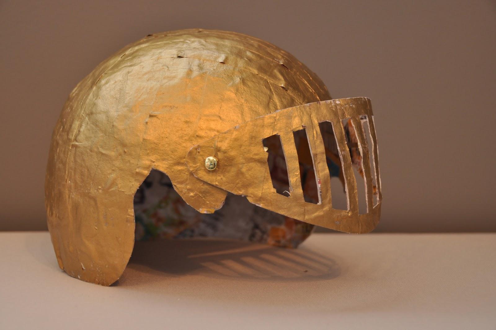 Cardboard Helmet Tutorial Knight Helmet Tutorial