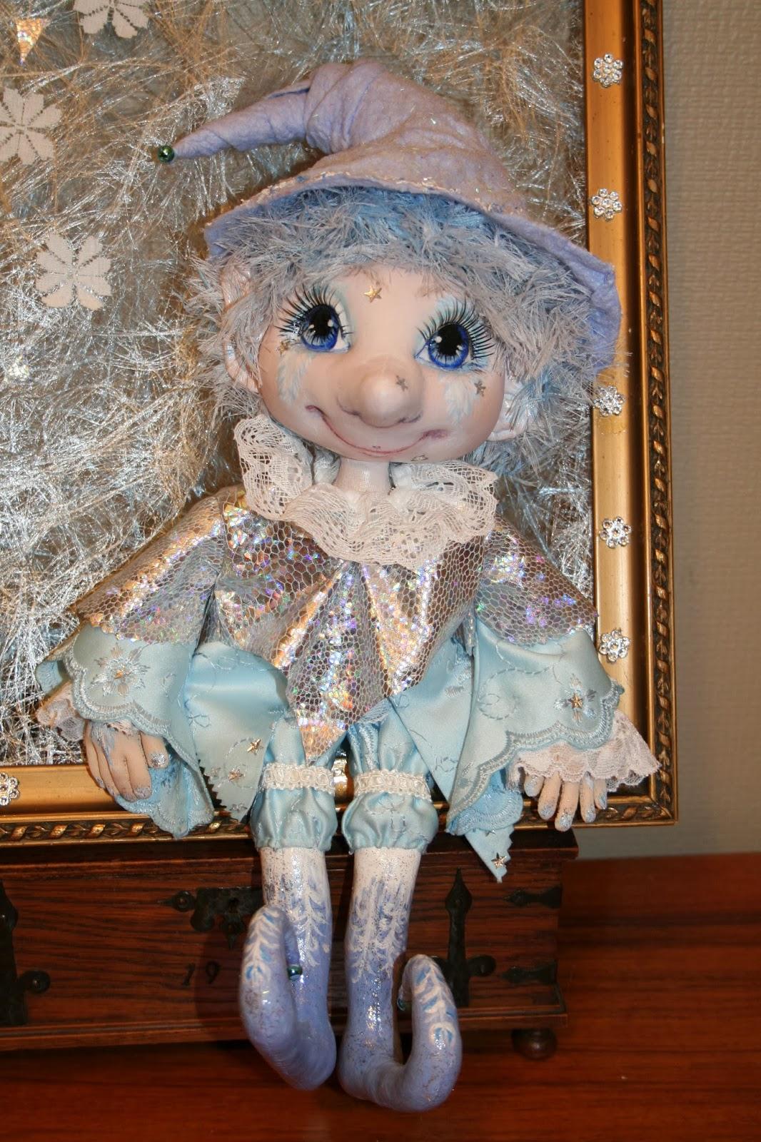 Текстильные куклы Нины Эрикссон Nina Eriksson. Куклы в чулочной технике, эльфы, тролли и малыши