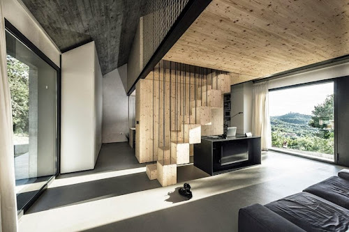 Compact Karst House by dekleva gregorič architects