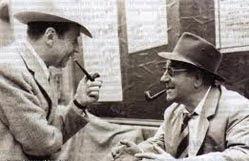 Georges Simenon e Jean Gabin