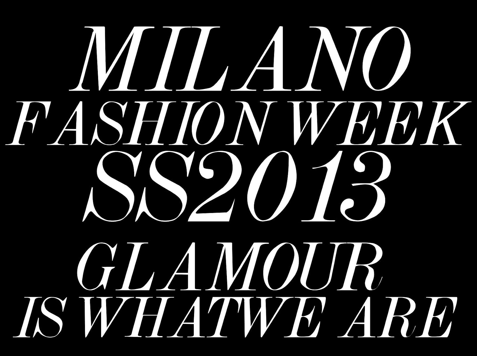 Caracade design ready set go milan fashion week for Fashion design milano
