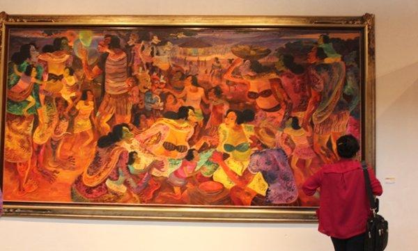 Mempelajari seni rupa pada dasarnya mempelajari peradaban manusia.