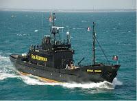 Austrália tenta liberação de ativistas por abordar baleeiro japonês