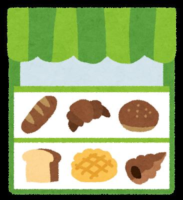 パン屋のイラスト