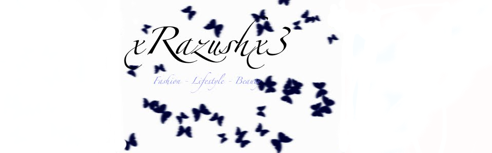 xRazushx l Fashion & Beauty Blog