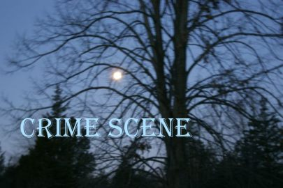 Crime Scene...
