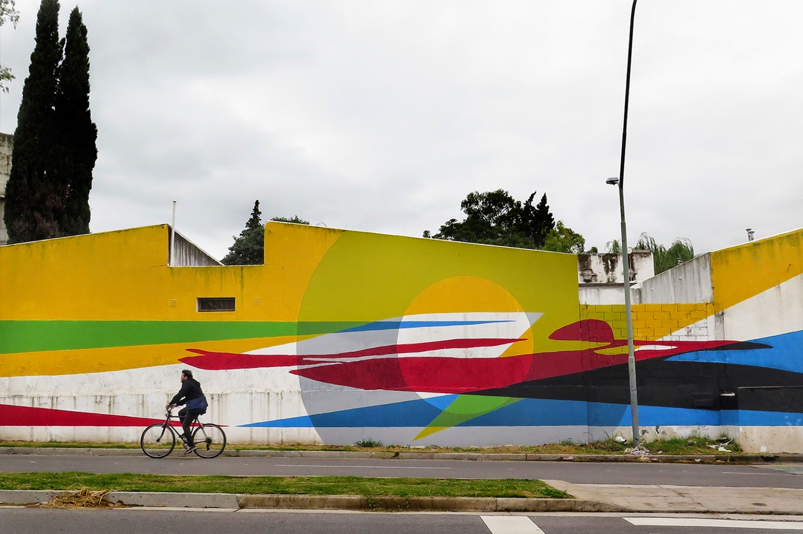 Elian is back in Argentina where he's been rather busy on working on this super-sized wall somewhere on the streets of Cordoba.