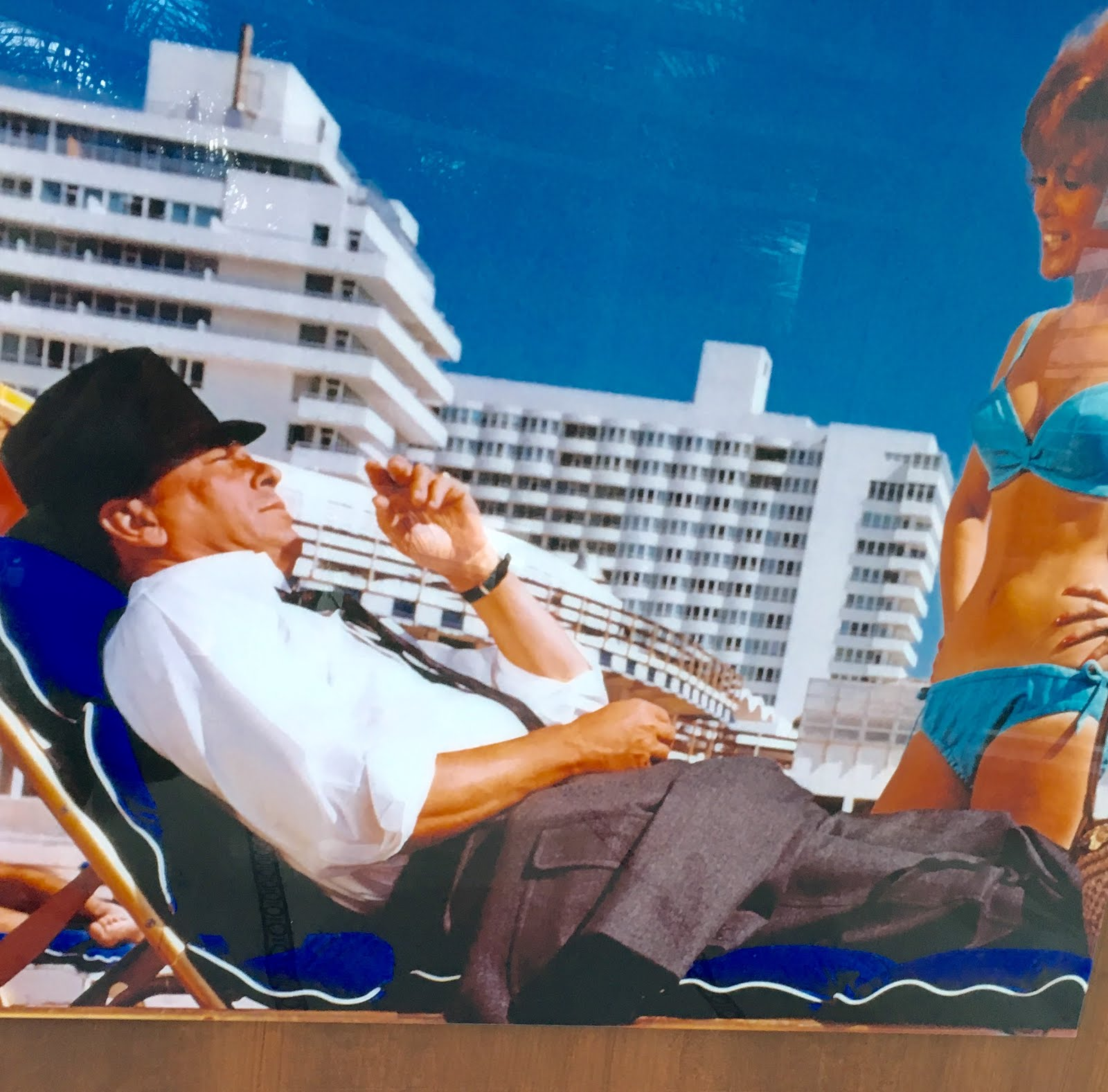 summer days / Sinatra exposition at Fontainebleau