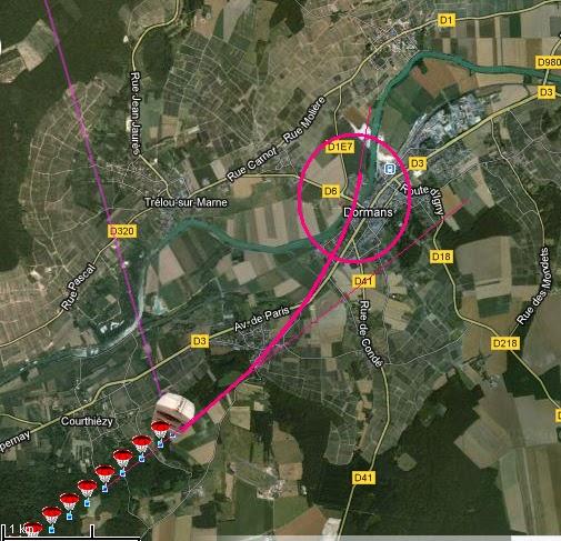 Alerte radiosondes trappes du 090413 12z - Point p trappes ...