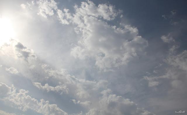 Canicule et nuages