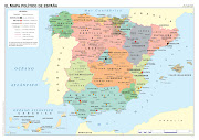 MAPA POLÍTICO DE ESPAÑA. MAPAS DE EUROPA. MAPA FÍSICO DE EUROPA MUDO (mapa politico espaã±a)