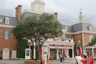 The American Adventure - World Showcase - EPCOT - Walt Disney World - Orlando, Florida