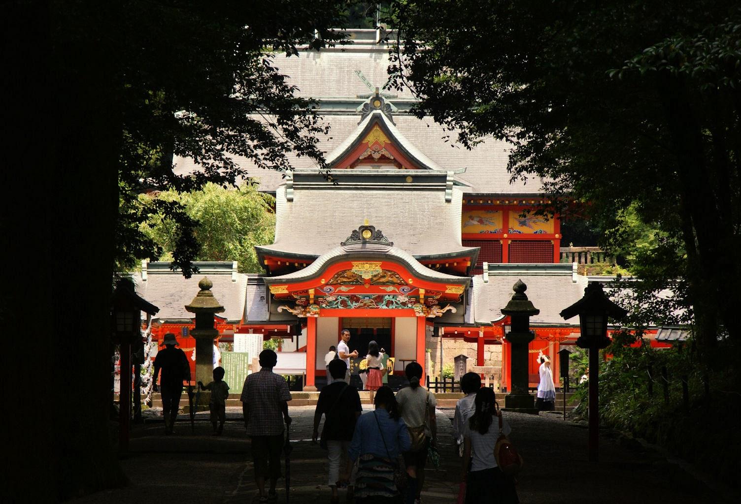 Kirishima Jingu, Kyushu