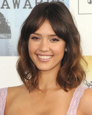 Jessica Alba Medium Hairstyles