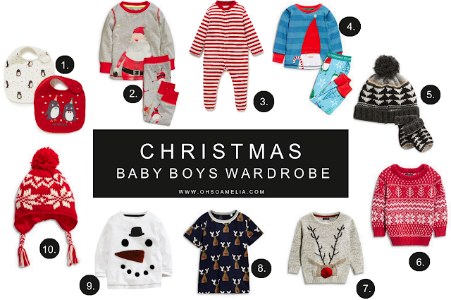 Christmas Baby boys Wardrobe