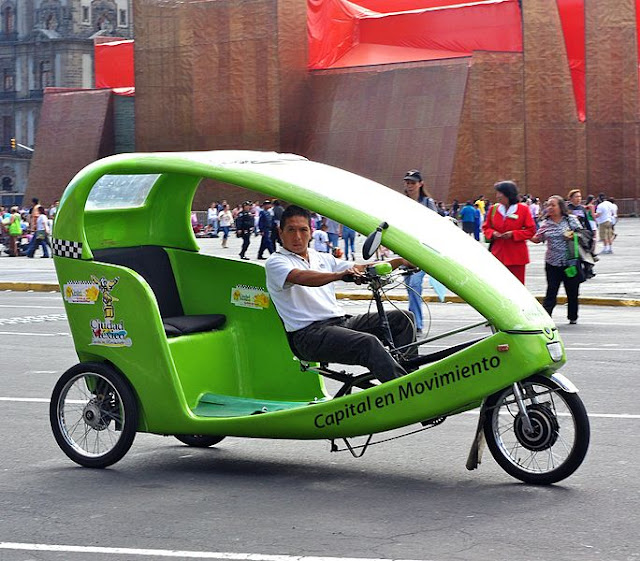 Gambar Pedicab in Mexico City