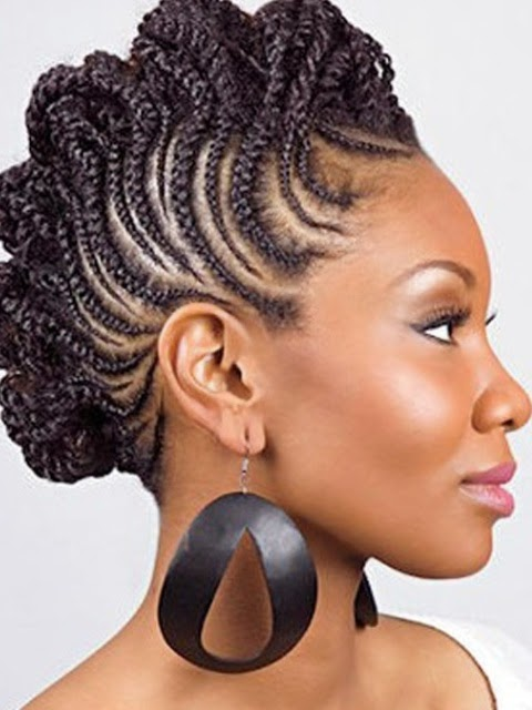 natural braided hairstyles for black women 2014 2015. Black Bedroom Furniture Sets. Home Design Ideas