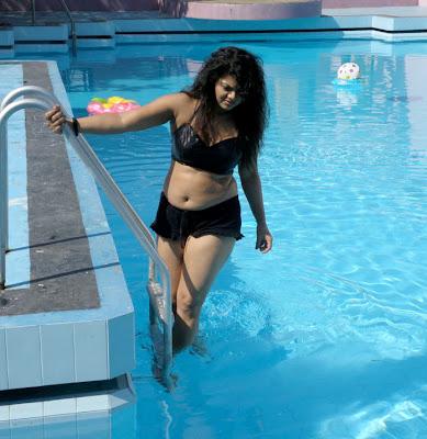 mallu auntie swathi verma spicy swimsuit unseen pics