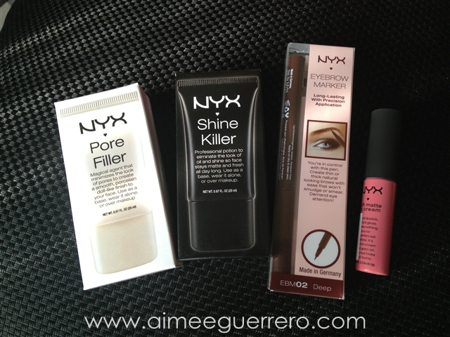 NYX Make-Up Haul