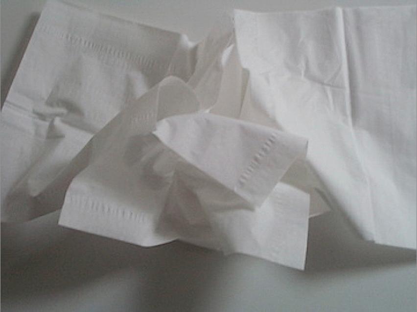 c m  grelon  tissus  films et papiers froiss u00c9s d u00c9chets de
