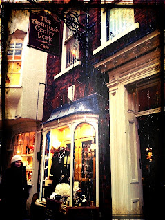 Antiques York Yorkshire Stonegate Townhouse Shopping