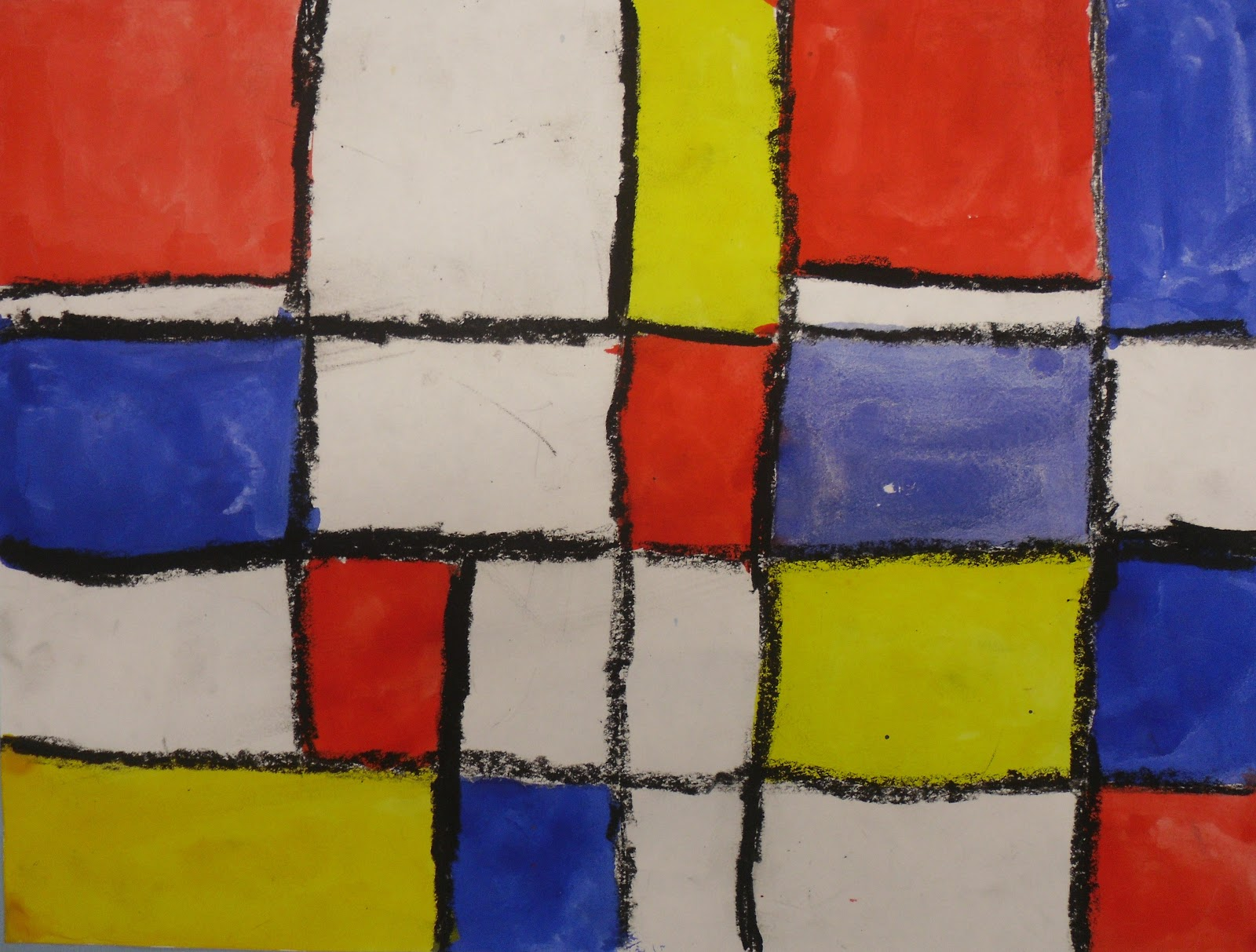 artventurous primary colours and piet mondrian