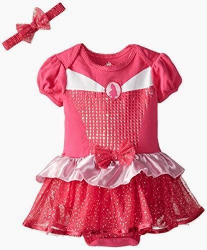 Disney Baby Baby-Girls Infant Disney Princess Bodysuit Dress