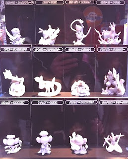 Pokemon Waza (Attacks) Museum Figure Prototype in WHF 2012 Banpresto