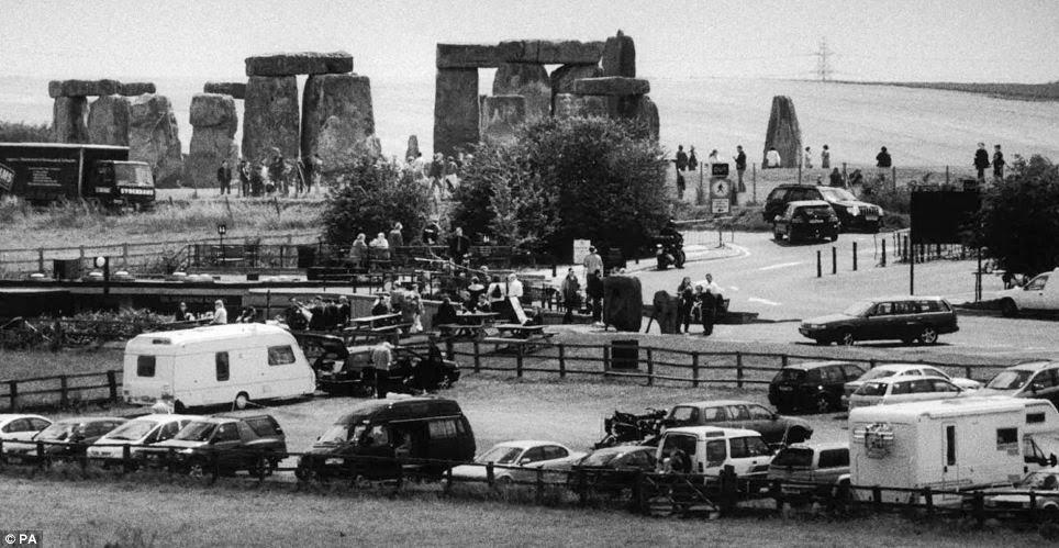 Stonehenge Car Parking