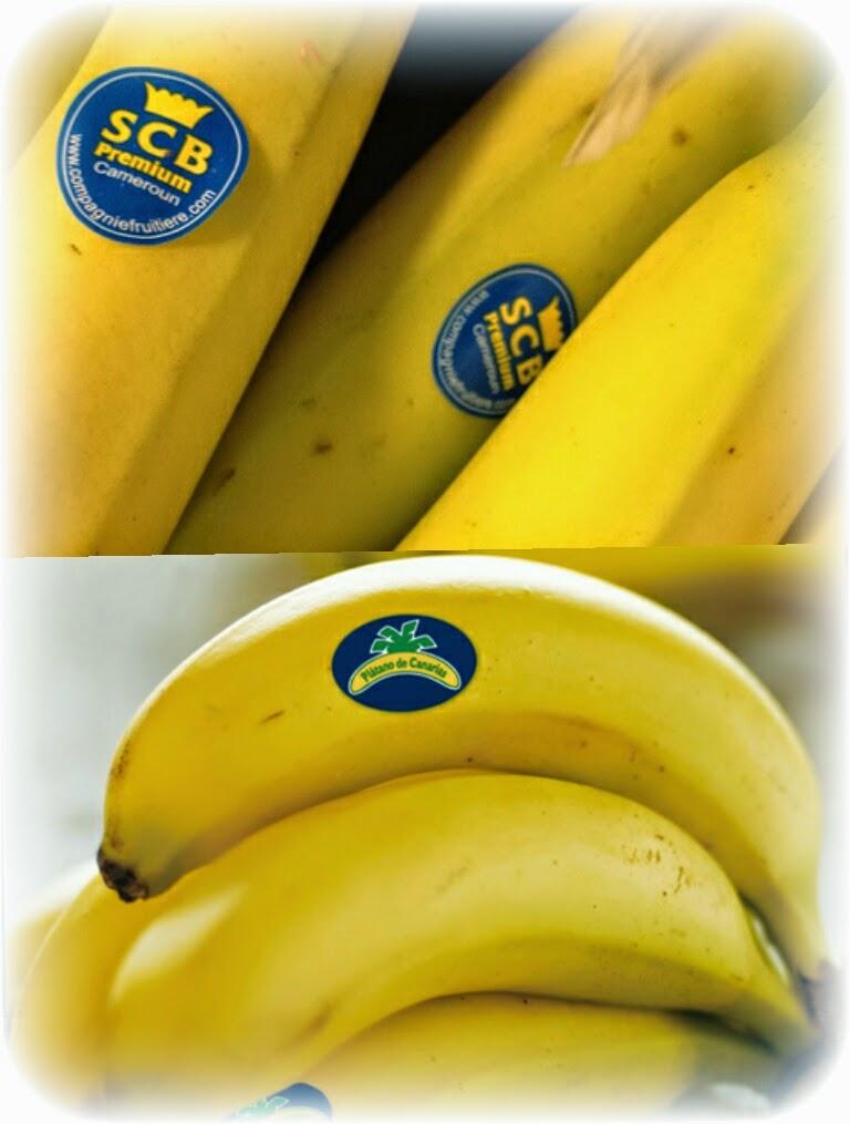 Platano canarias vs Banana