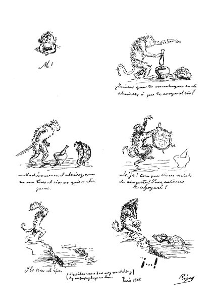 the monkey and the turtle by jose rizal