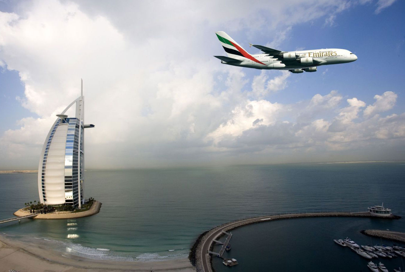 Passion for luxury emirates a luxury hotel up in the air for Emirates hotel dubai