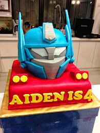 Aiden's 4th Transformers Birthday Party